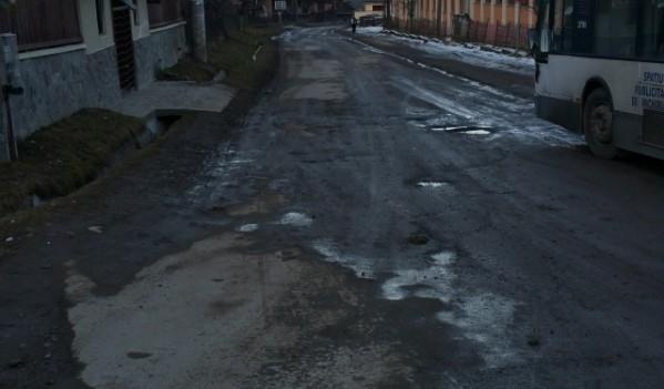 Sighetu Marmației: Strada Valea Hotarului-Iapa va fi reabilitată