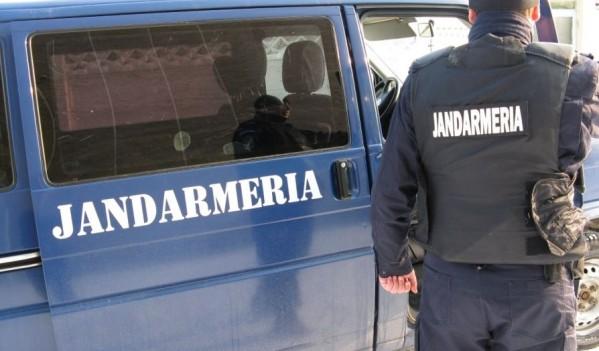 Scandalagii amendați de jandarmii băimăreni