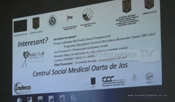 Centru Socio-Medical pentru bătrânii din Oarța de Jos (VIDEO)