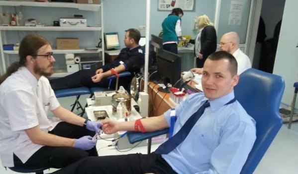 Maramureș: Act caritabil, jandarmii donează sânge