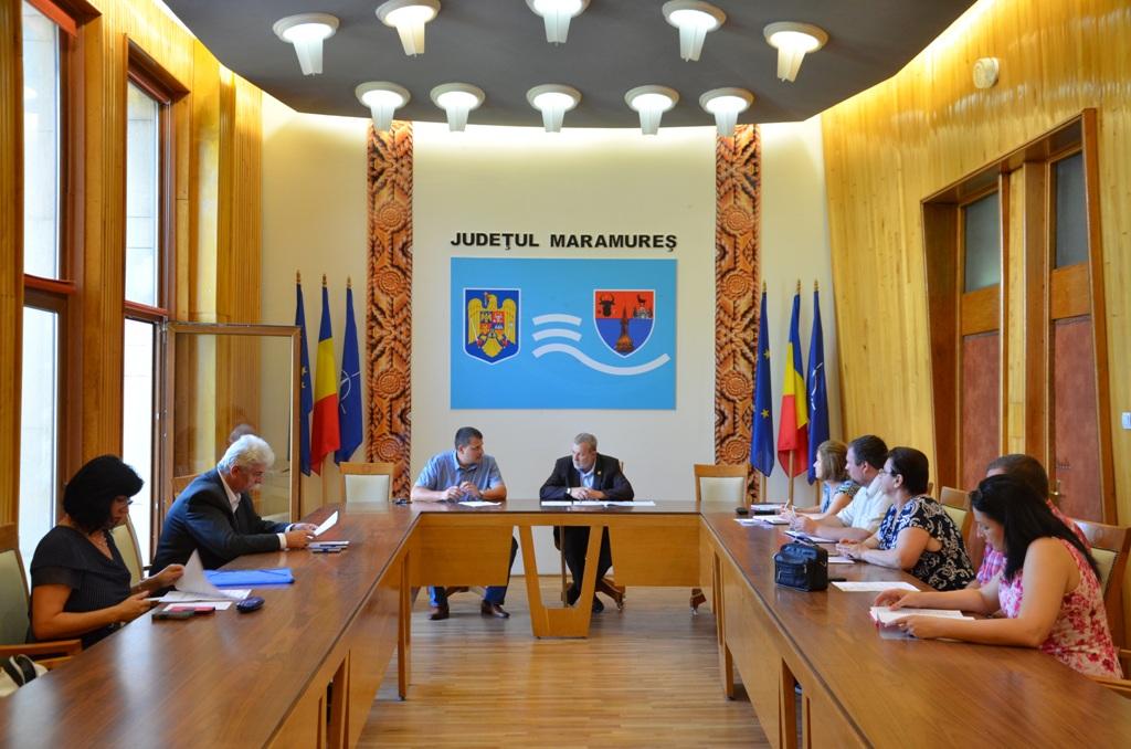 Maramureș: O nouă ședință privind bugetul consolidat