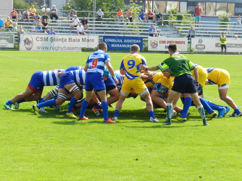 Rugby: CSM Știința Baia Mare va întâlni formația CSM Olimpia București în semifinalele Cupei Regelui