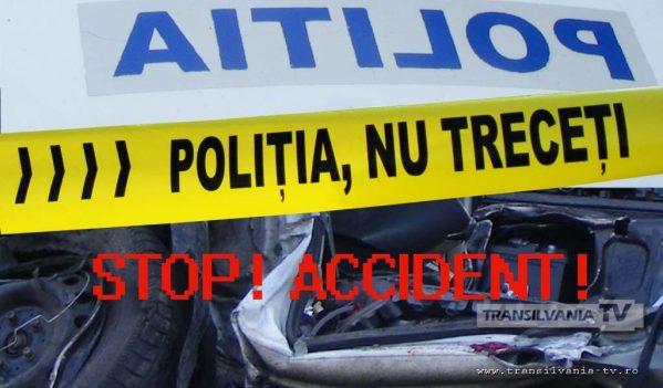 Trei persoane rănite în Budești, după ce autoturismul în care se aflau a ajuns într-un parapet metalic