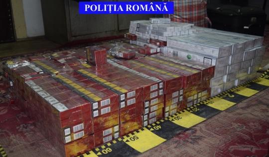 Contrabandă cu ţigări în trenul Tisa - Sighetu Marmaţiei