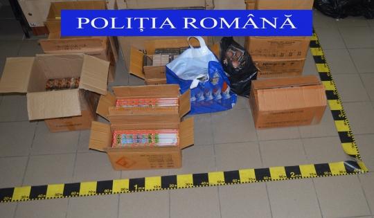 Băimărean prins în flagrant de poliţişti, în timp ce vindea petarde unui minor