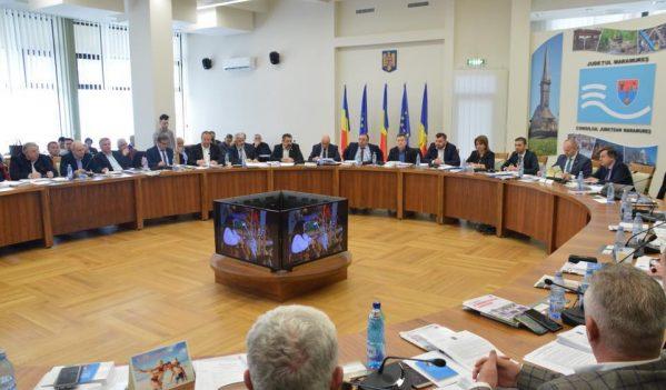 Consultări punctuale pe Legea Bugetului, la Consiliul Județean Maramureș