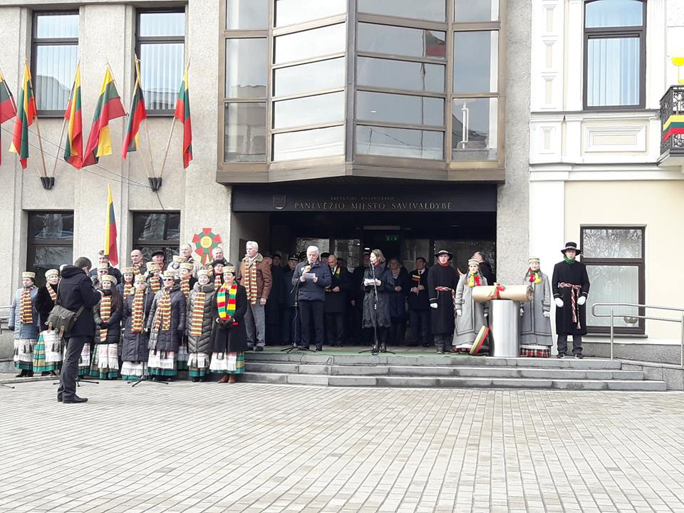 Delegație din Maramureș prezentă în Panevezys, la celebrarea centenarului independenței Lituaniei