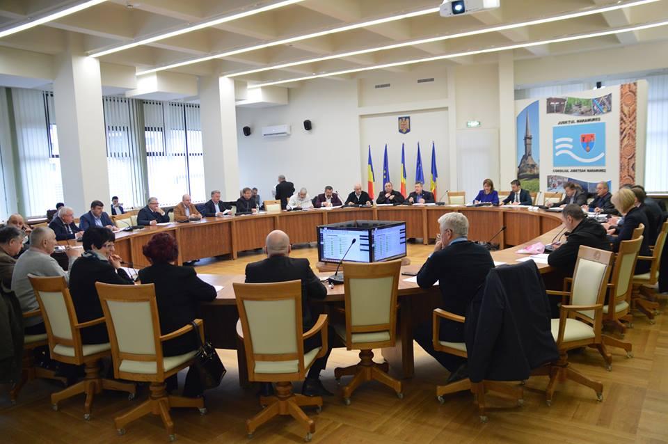Ședință extraordinară a Consiliului Județean Maramureș. Vezi ce proiecte au fost aprobate