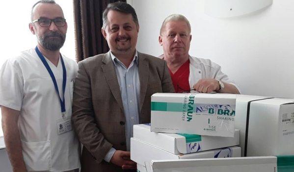 Aparatură și instrumentar chirurgical de 80.000 de lei, donate Spitalului Județean de Urgență Baia Mare