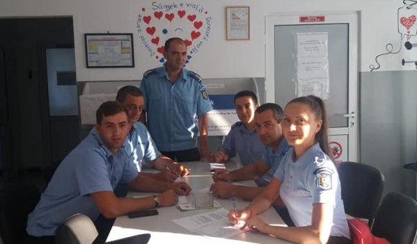 Jandarmii maramureșeni au donat sânge