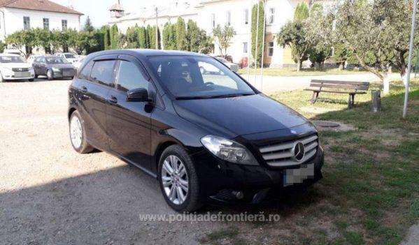 Mercedes căutat de autorităţile din Italia, descoperit la PTF Sighetu Marmației