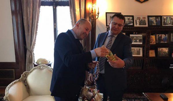 Vicepreședintele CJ Maramureș s-a întâlnit cu ambasadorul României la Washington
