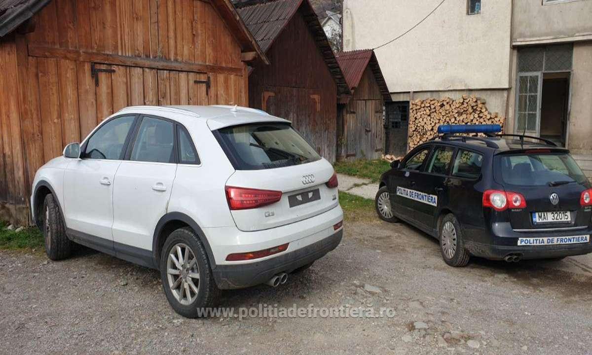 Audi Q3 căutat de autorităţile din Italia, descoperit de polițiștii de frontieră în Borșa