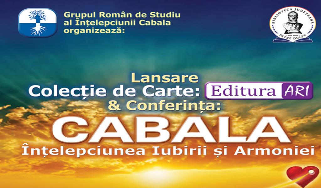 CABALA - Lansare de carte și conferință în premieră la Baia Mare
