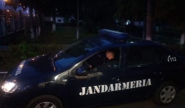 Scandal aplanat de jandarmi în Baia Mare