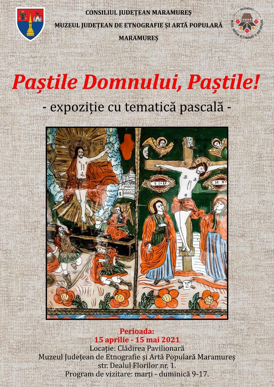 Microexpoziție cu tematică pascală la Muzeul Județean de Etnografie și Artă Populară Maramureș