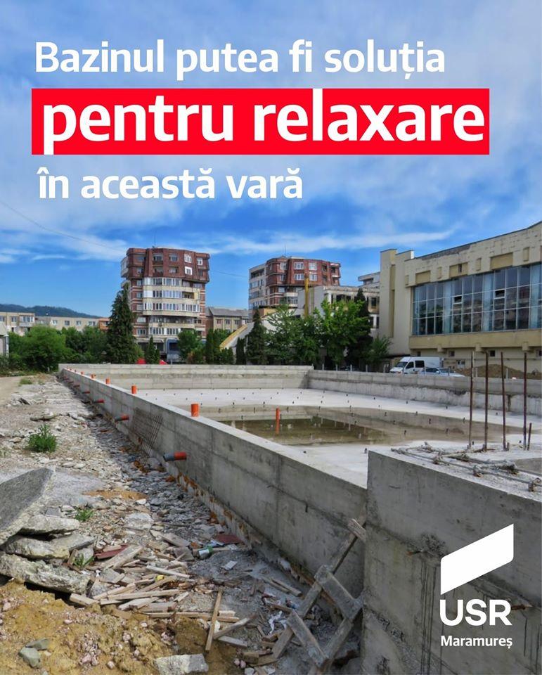 """Bazinul olimpic descoperit și Puterea politico-administrativă locală """"acoperită"""" doar cu promisiuni și minciuni"""