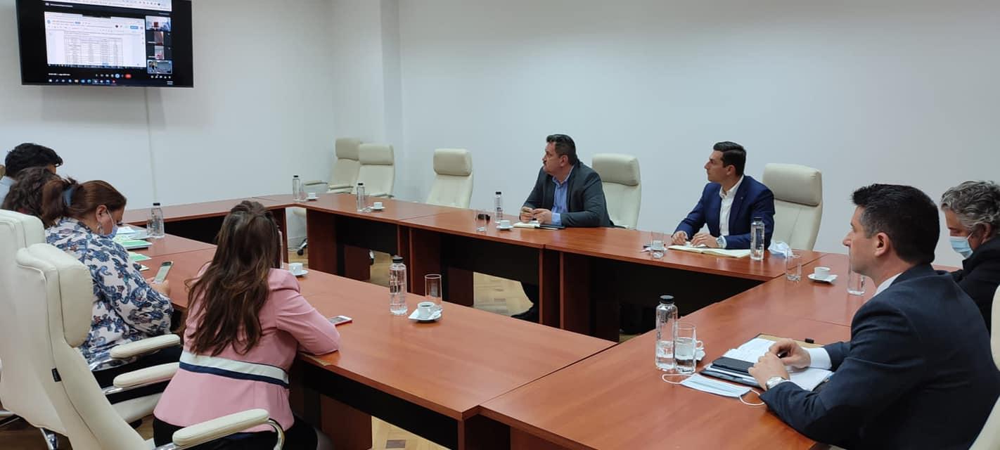 Întâlnire de lucru la Ministerul Transporturilor și Infrastructurii pe tema drumului expres Baia Mare – Satu Mare.